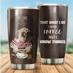 LIMITED EDITION – For Dog Lovers- Pug Tumbler 10082A
