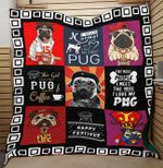 LIMITED EDITION- FOR DOG LOVERS - PUG BLANKET – 10129A