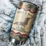 LIMITED EDITION – Dog Lovers - Dachshund Tumbler 8941A