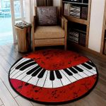 LIMITED EDITION - MUSIC IS LIFE – ROUND RUG 5934A