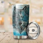 LIMITED EDITION – FOR WOLF LOVERS - TUMBLER 8057A