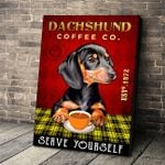 LIMITED EDITION - DACHSHUND CANVAS 10108A