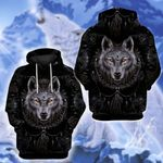 LIMITED EDITION- 3D WOLF HOODIE – 8151A