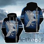 LIMITED EDITION- 3D WOLF HOODIE – 5638A