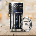 LIMITED EDITION – BACK THE BLUE TUMBLER 10013A