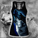 LIMITED EDITION- 3D WOLF TANK TOP – 8152A