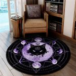 LIMITED EDITION - CAT LOVERS – ROUND RUG 10639A