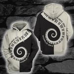 LIMITED EDITION- 3D MUSIC ON WORLD OFF HOODIE – 8314K
