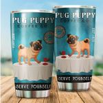 LIMITED EDITION – FOR DOG LOVERS- PUG TUMBLER 10120A