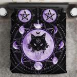 LIMITED EDITION – BLACK CAT – BEDDING SET 10636A