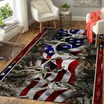 LIMITED EDITION - DEER HUNTING RUG 10709A