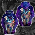 LIMITED EDITION- 3D HIPPIE HOODIE – 8337K