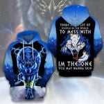 LIMITED EDITION- 3D WOLF HOODIE – 5447A