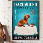 LIMITED EDITION - DACHSHUND CANVAS 10119A