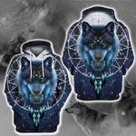 LIMITED EDITION- 3D WOLF HOODIE – 8322A