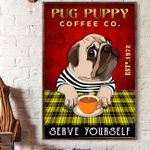 LIMITED EDITION - PUG CANVAS 10109A