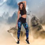 LIMITED EDITION – PURPLE WOLF LEGGING 8146A