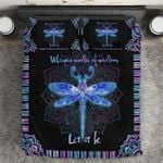 LIMITED EDITION HIPPE DRAGONFLY BEDDING SET 8312k