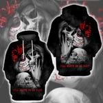 LIMITED EDITION- 3D SKULL COUPLE HOODIE – 8297K