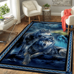 LIMITED EDITION - 3D WOLF RUG 5590A