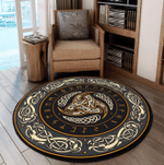 LIMITED EDITION - VIKING FOR FANS – ROUND RUG 5593A