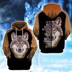 LIMITED EDITION- 3D WOLF HOODIE – 8021A