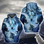 LIMITED EDITION- 3D WOLF HOODIE – 8028A