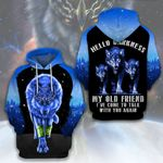 LIMITED EDITION- 3D WOLF HOODIE – 5440A