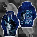 LIMITED EDITION- 3D WOLF HOODIE – 8351K