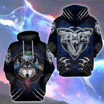 LIMITED EDITION- 3D WOLF HOODIE – 5450A