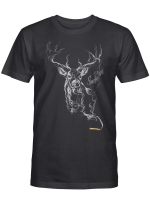 LIMITED EDITION - DEER HUNTING T SHIRT 9201K