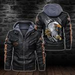 HOODED LEATHER JACKET – LIMITED EDITION-11292A