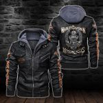 HOODED LEATHER JACKET – LIMITED EDITION-11293A