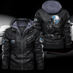MERCEDES HOODED LEATHER JACKET LIMITED EDITION ZPLT9022TH-TR