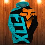 LIMITED EDITION ORANGE F.X RACING 3D HOODIE-TP