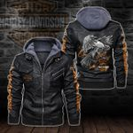 HOODED LEATHER JACKET LIMITED EDITION-5788A_TR