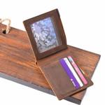 100% Genuine Cow Leather Wallets Bifold Purse Vintage Crazy Horse Leather Clutch Men wallets Retro Coin Pocket men wallets