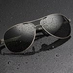 Aluminum Magnesium Polarized Sunglasses Men Driving Classic Designer Pilot Sun Glasses For Men