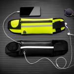 "Adjustable Waterproof USB Waist Hip Bag Women Men Fanny Pack Casual 8"" Phone Key Purse Money Belt Chest Pouch Travel Accessory"