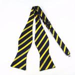 100% Silk Multi-Colors Self Bow ties