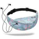 1PC 3D Colorful Print Flamingo waist Bags women fanny packs Hip Money Belt Bags Travelling Mountaineering Mobile Phone Bag Waist