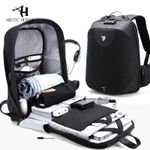 ARCTIC HUNTER New Anti-theft 15.6 Laptop Men Bag School Password Lock Backpack Waterproof Casual Business Travel Male Backpacks
