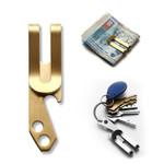 1PC New Metal Men Money Clip Pocket Holder Wallet Stainless Steel Bottle Opener Key Chain Multifunctional Money Clip