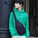 ARCTIC HUNTER New Men's chest bag Fashion casual multifunctional chest bag waterproof Oxford cloth diagonal shoulder bag