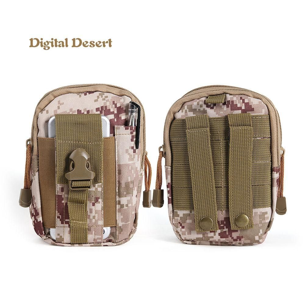 1PC Waterproof  Scratch Resistant Molle Pouch Belt Waist Pack Bag Military  Pouch  Waist Fanny  Field Pack