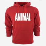 Animal Print Hoodies Sweatshirt