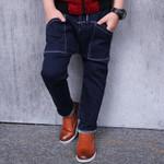 Autumn New Fashion Cotton kids jeans children jeans Blue Long Denim Jeans Children Trousers children boy jeans