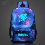 Anime Harajuku Fairy Tail Star Magic Guild logo shoulder  zipper bag men schoolbags Naz rucksack