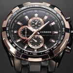 2016 Mens Watches Top Brand Luxury Men Military Wrist Watches Full Stainless Steel Men Quartz Watch Waterproof Relogio Masculino