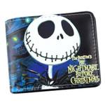 Anime Nightmare Before Christmas Wallet Jack Skellington Wallet Short Purse Bag